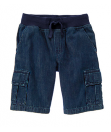 Gymboree Denim Cargo Shorts Little Boy