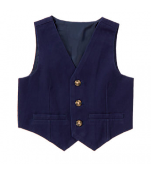 Gymboree Navy Classic Jacket