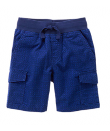 Gymboree Blue/Black Cargo Shorts