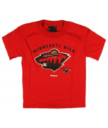 Reebok Red Minnesota Boys Tee