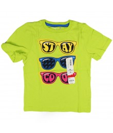 Jumping Beans Lemon Green Boys Tee Little Boy