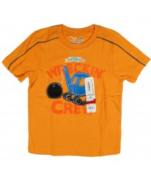 Jumping Beans Orange Boys Tees