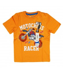 Jumping Beans Orange Boys Tee