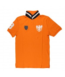 Giordano Orange Boys Polo Tee Wt White Eagle N Crest