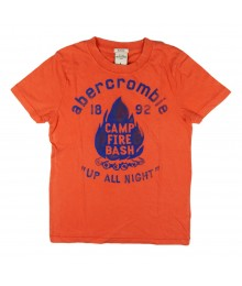 Abercrombie Orange Boys Tee/Camp Fire Bash