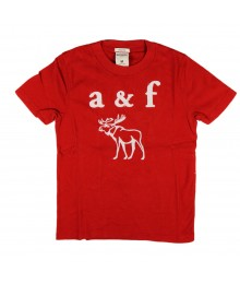 Abercrombie Red Boys Tee/A & F