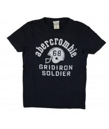 Abercrombie Navy Boys Tee/Gridiron Soldier