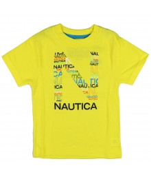 "Nautica Yellow ""N"" Tee"