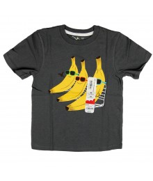 Jumping Beans Grey Boys Tees- Banana