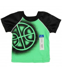 Okie Dokie Green/Black  Athletic Boys Tee Baby Boy
