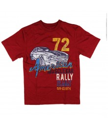 Childrens Place Red Car Rally Graphic Boys Tee