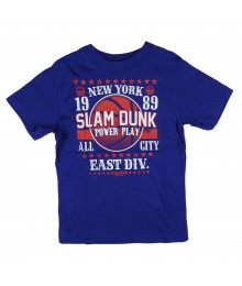 Childrens Place Blue Slam Dunk Graphic Boys Tee