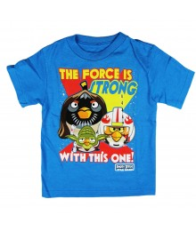 "Angry Birds Turq ""The Force"" Boys Tee Little Boy"