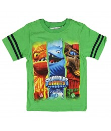 Skylanders Giants Green Boys Tee Little Boy
