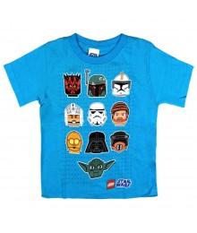 Lego Star Wars Turq Boys Tee