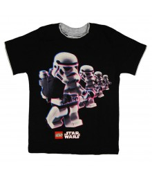 "Lego Star Wars ""Mock Layer Storm Tropper"" Boys Tee Little Boy"
