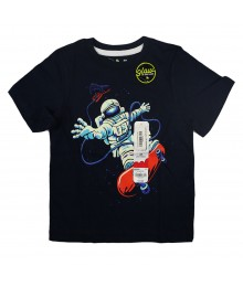 "Jumping Beans Navy ""Skateboarding Astronaut"" Boys Tee"