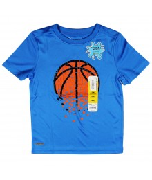 "Jumping Beans Blue ""Basketball Performance"" Boys Tee Little Boy"