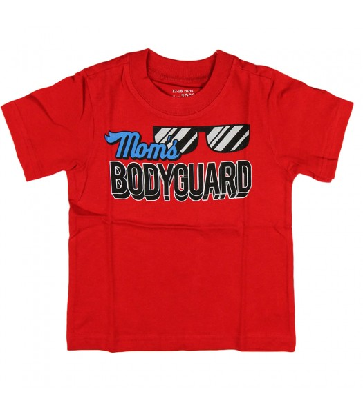 Childrens Place Red Moms Bodyguard Graphic Tee