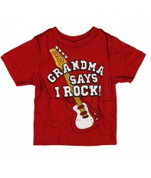 "Childrens Place Red ""Grandma"" Graphic Boys Tee"