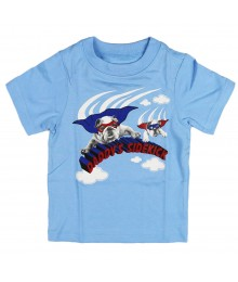 "Childrens Place Sky Blue ""Sidekick"" Graphic Tee"