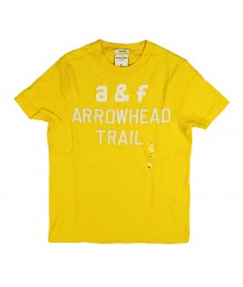 Abercrombie Yellow Boys Tee - A N F Embrry