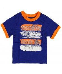 "Childrens Place Blue""Sporty"" Graphic Tee"