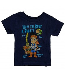 "Disney Navy ""Jake And The Never Land"" Boys Tee"