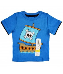 "Jumping Beans Blue ""Mock-Layer"" Boys Tee"