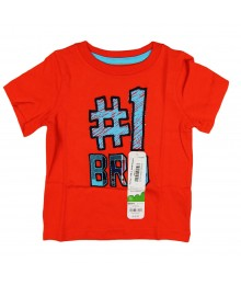 "Jumping Beans ""#1 Br0"" Tee Boys Baby Boy"