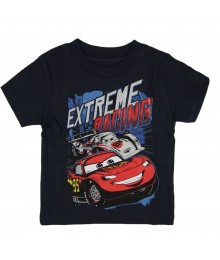 "Disney/Pixar Car  Navy ""Extreme Racing"" Tee"