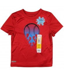 "jumping beans red ""basketball"" boys tee"