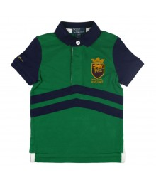 Polo Green And Blue Wt Polo Rl Crest