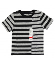Jumping Beans Grey Stripped Boys Tees