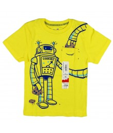 Jumping Beans Yellow Tee Little Boy