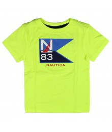 Nautica Neon Flag Boys Tee  Little Boy