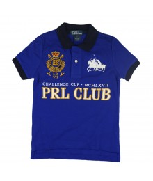 "Ralph Lauren Blue  ""Prl Club"" Boys Polo"