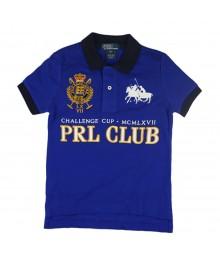 "Ralph Lauren Blue  ""Prl Club"" Boys Polo"