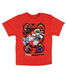 Lego Red Ninjago Rebooted Tee