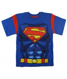 Superman Blue Graphic Tee