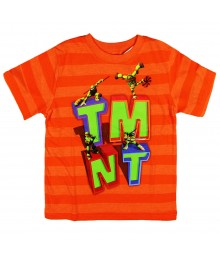 Teenage Mutant Ninja Turtle Vibrant Orange Strioed Tee