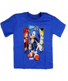 Sonic The Hedgehog Tails & Knuckles Blue Tee
