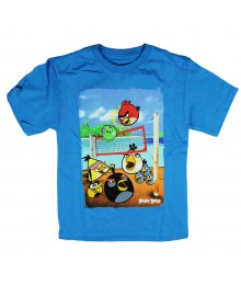 Angry Birds Turquoise Volleybal Graphic Tee