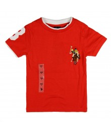 U.S Polo Assn Red Tee