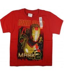 "Iron Man Red ""Iron Man Wt Mark 42"" Print Tee"