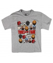 Urban Pipeline Grey Boys Tee