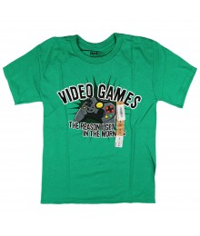 Urban Pipeline Green Boys Tee - Video Games