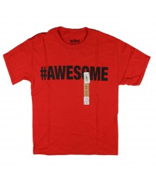 Urban Pipeline Red Boys Tee - #Awesome
