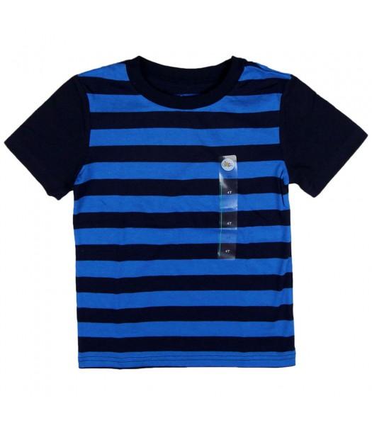 Circo Navy/Blue Stripped with Navy Sleeve Boys Tee