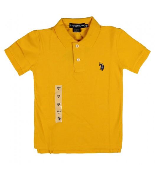 Uspa Yellow Polo Boys Little Boy
